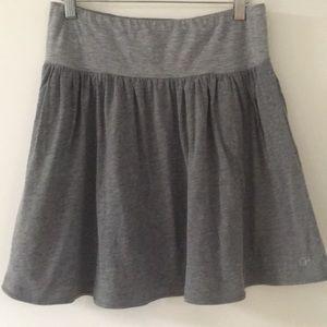 GILLY HICKS Grey Stretch Waist Skirt Knee Length